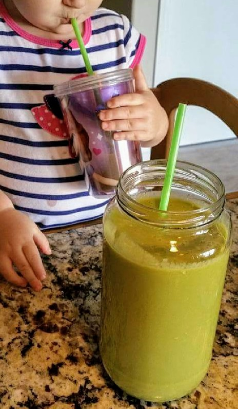Banana Date Power Green Smoothie